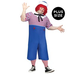 Raggedy Andy Adult Plus Costume