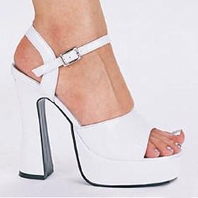 Lea Platform Shoes White 11