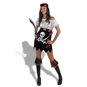 Hottie Totties Funky Punk Pirate Adult