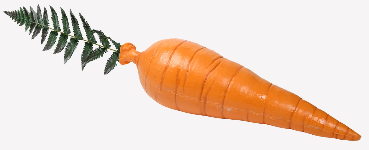 Giant Artificial Carrot