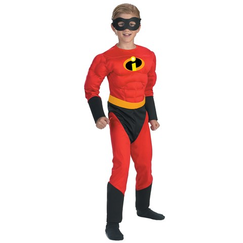 The Incredibles - Dash Muscle Child Costume