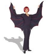 Velvet Bat Wing Cape  Adult