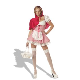 Miss Red Riding Hood Adult Costume