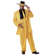 Zoot Suit (Yellow)  Adult