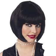 Flapper Wig (Black)