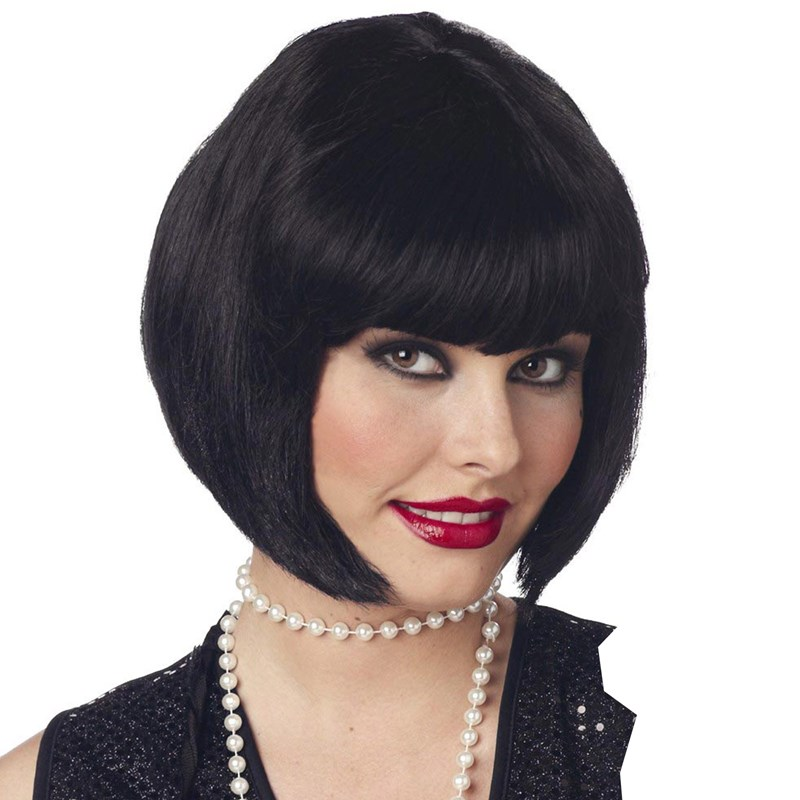 Flapper Wig (Black) for the 2015 Costume season.