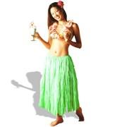 Grass Skirt Set Green (4 piece)