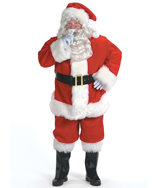 Professional Santa Suit 42-48 Costume