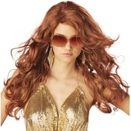 Sultry Deluxe Adult Wig Natrl Red