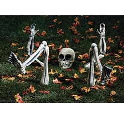 Lighted Groundbreaker Skeleton Body Parts