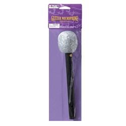 Glitter Microphone (Silver)