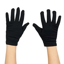 Theatrical Child (Black) Gloves