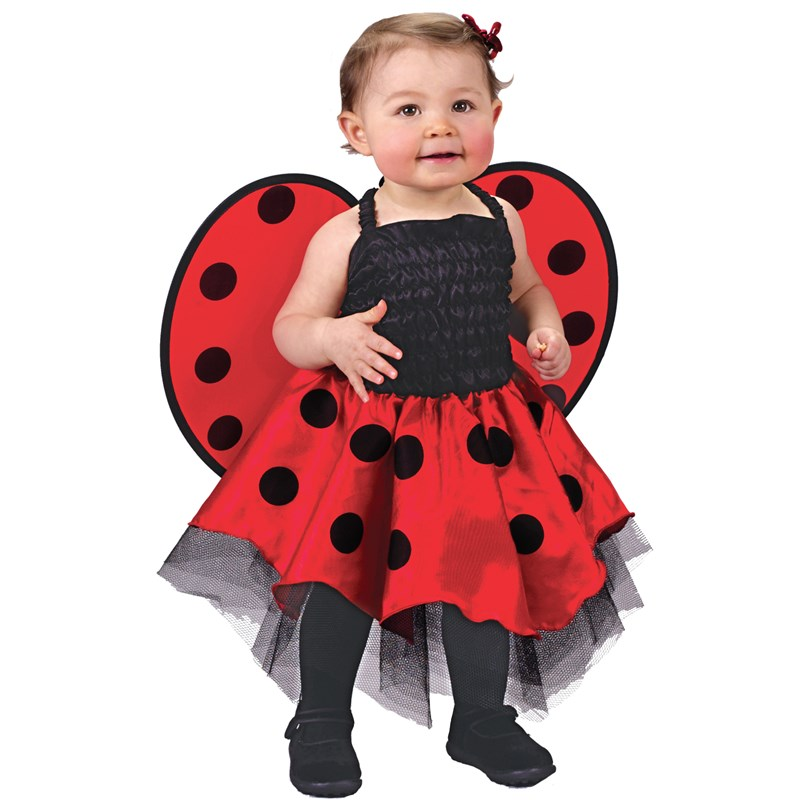 Lady Bug Infant Costume for the 2015 Costume season.