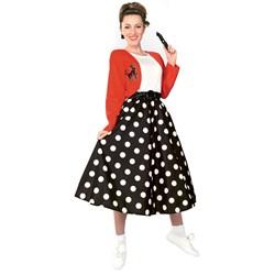 Polka Dot Rocker Adult Costume