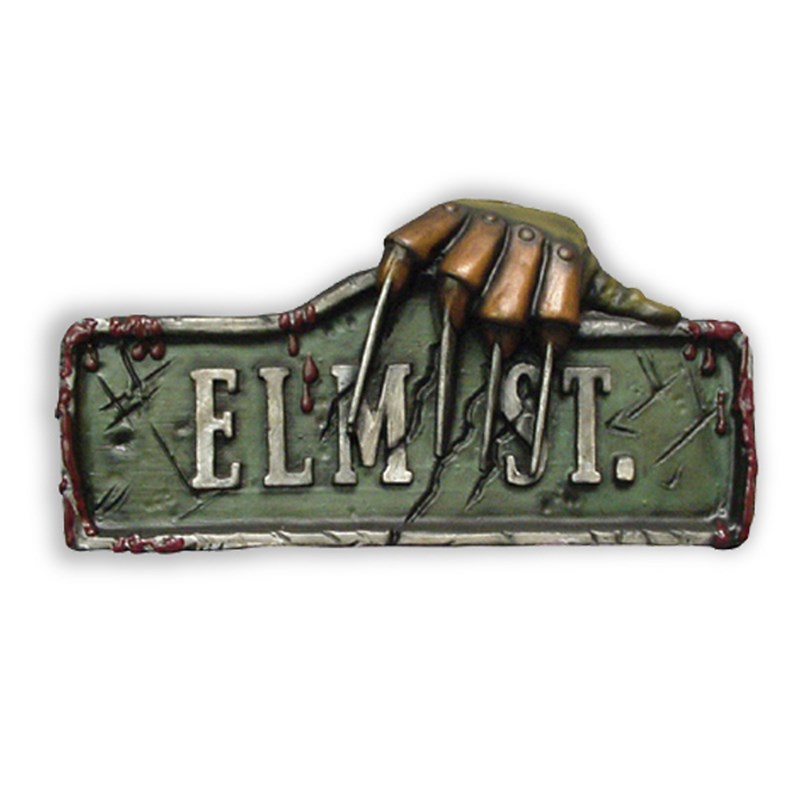 Nightmare on Elm Street Sign for the 2015 Costume season.