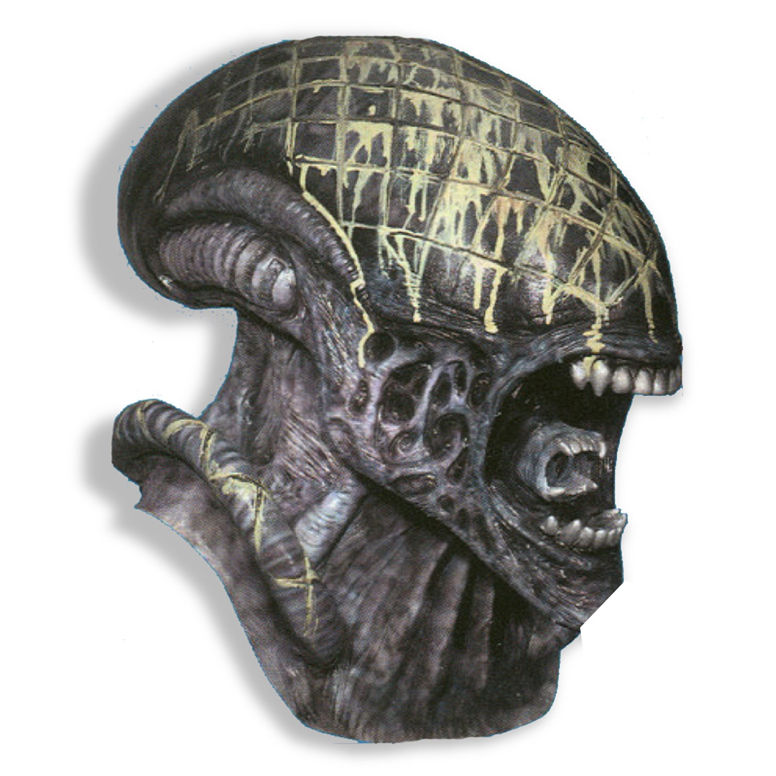 Image of Alien Deluxe Adult Mask