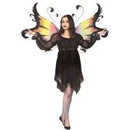 Faerie Dress (Black)  Adult Costume