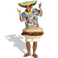 Paradise Burger Costume