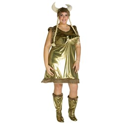 Perky Viking Plus Adult Costume