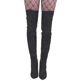 Thigh High Boottops - Pleather SM/MD