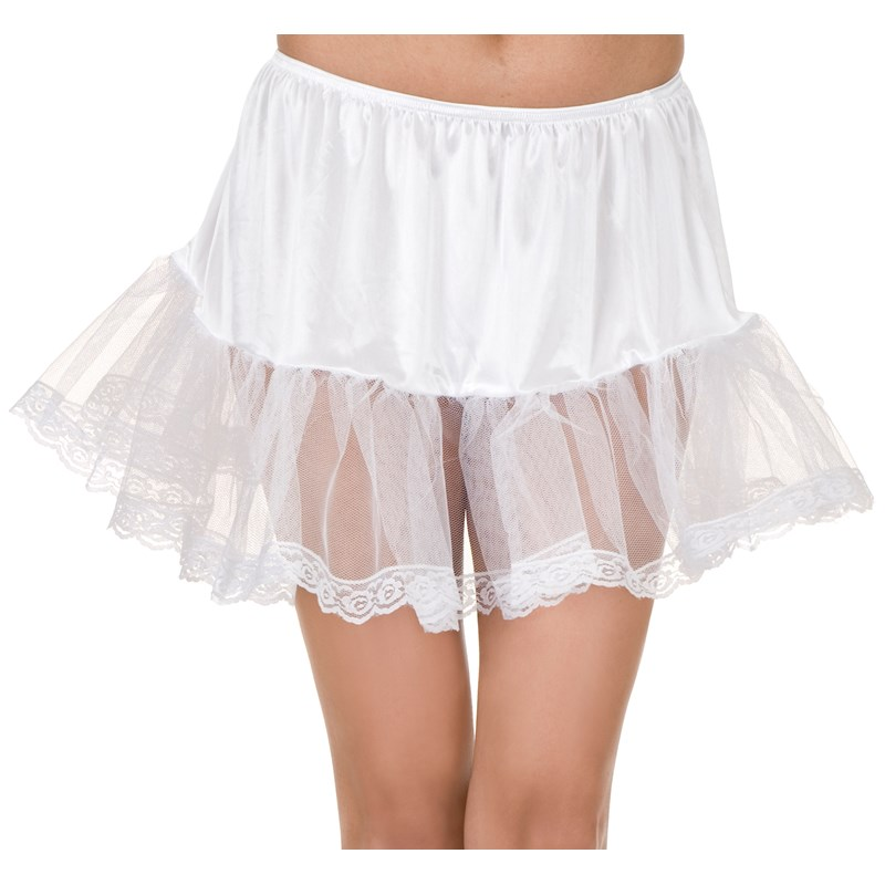 Lace (White) Petticoat Adult for the 2015 Costume season.