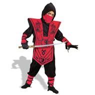 Ninja Complete Child (Red) Large