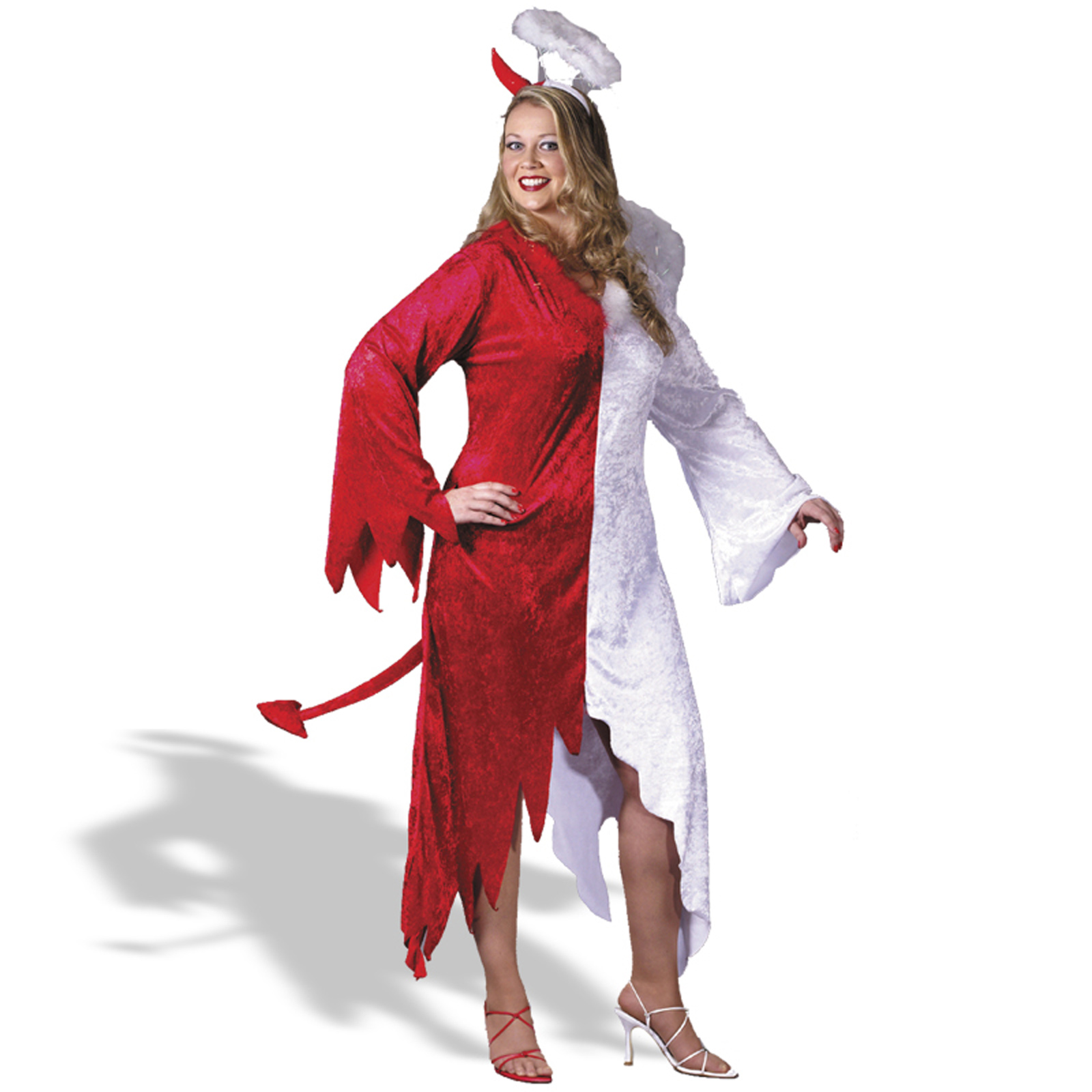 Adult angel costume devil