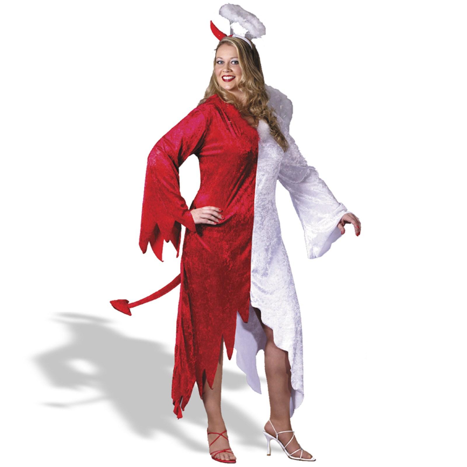 Plus size sinister devil costume
