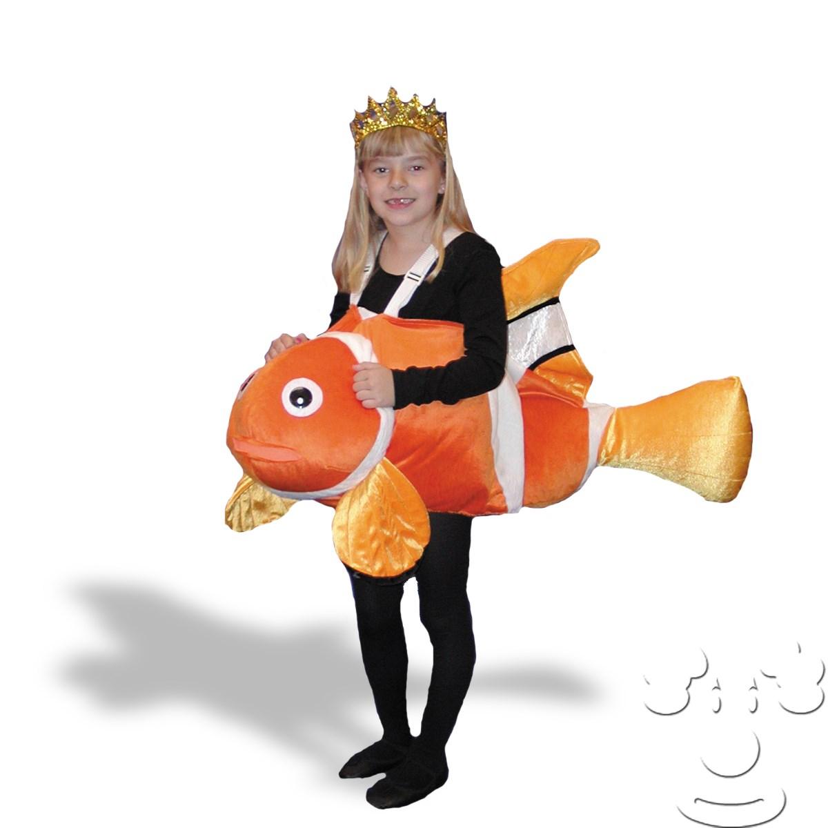 Clown fish child costume for Fish costume men