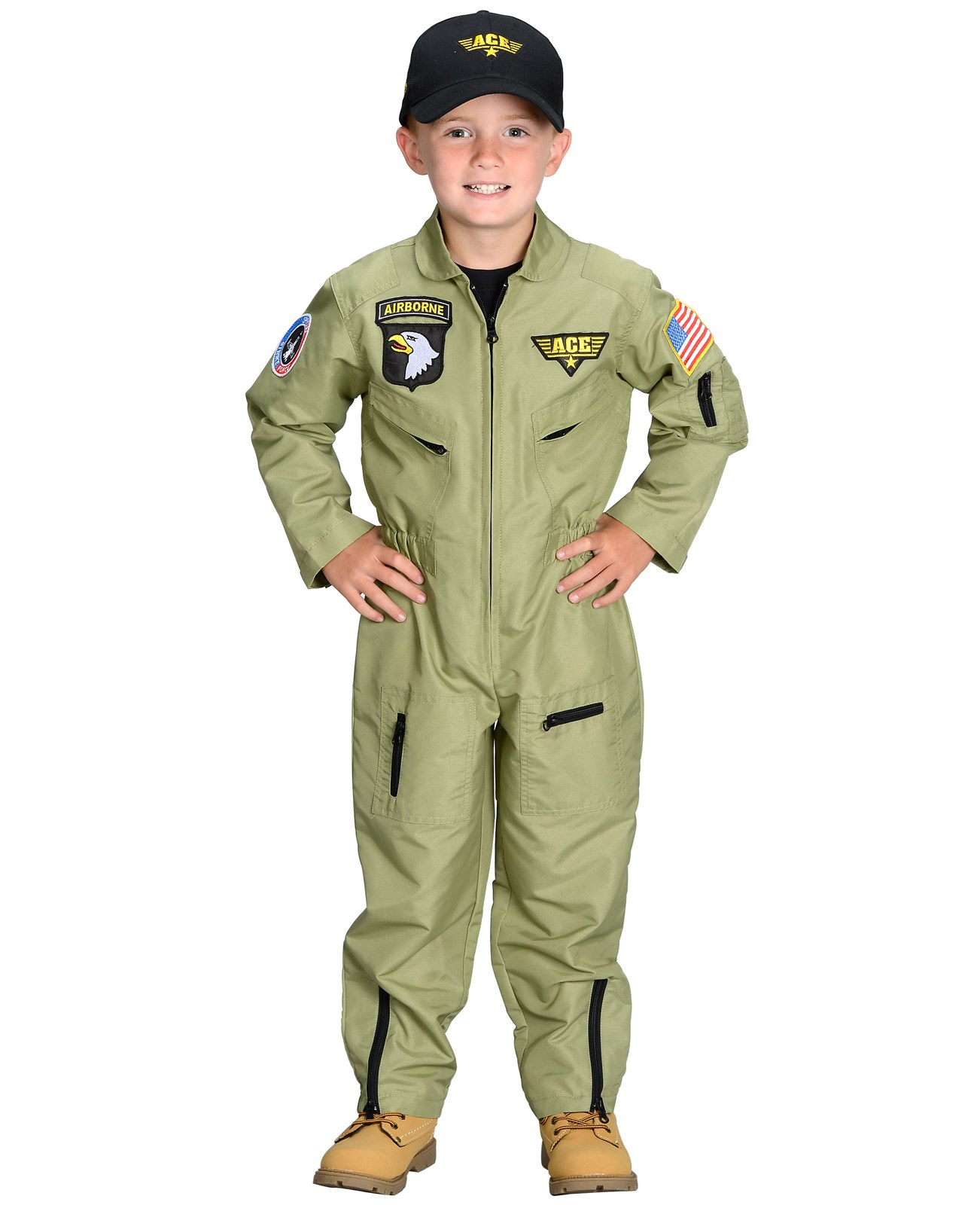 Jr. Armed Forces Pilot Toddler / Child Costume