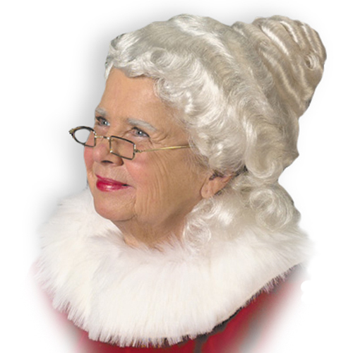 http://Mrs. Claus Wig Adult