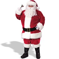 Regency Plush Santa Suit (Red)