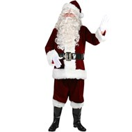 Ultra Velvet Santa Suit Large