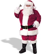 Regency Plush Santa Suit (Crimson)