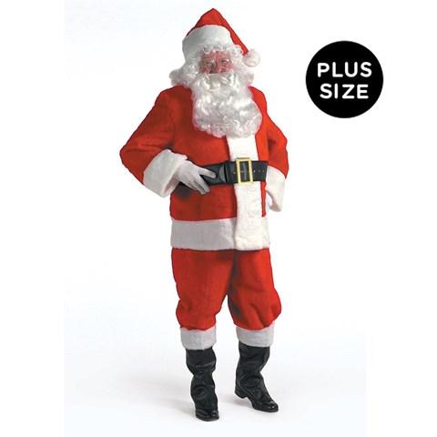 Kris Kringle Suit Adult Plus Size 2XL