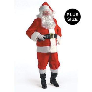 Kris Kringle Suit 3X Costume