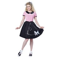 50's Hop With Poodle Skirt Adult