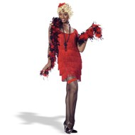 Fashion Flapper (Red)  Adult