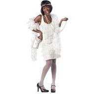 Fashion Flapper (White)  Adult