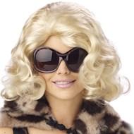 Jet Set Wig Blonde Adult