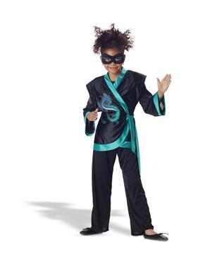 Jewel Dragon Jade Ninja Child Costume