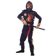 Ninja Of The Black Dragon Child Medium