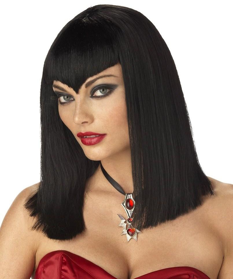 Vamp Wig Black Adult