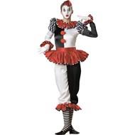 Harlequin Clown - Elite Adult Collection Large