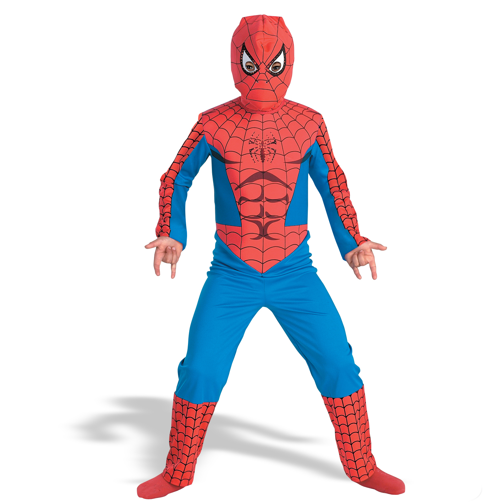 Black Lycra Spandex Spiderman Unisex Costume Suit Outfit Zentai with.