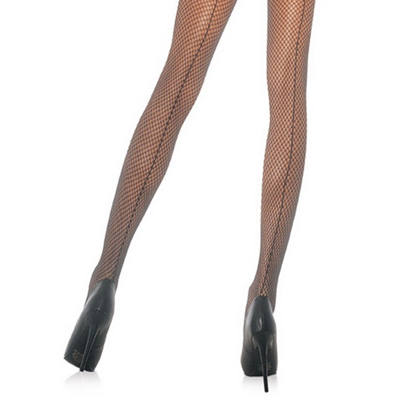 Mesh Pantyhose w and Seam, Black for the 2015 Costume season.
