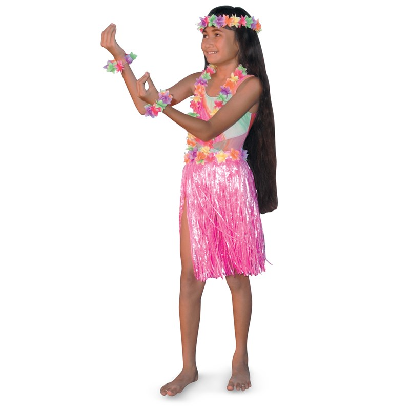Child Hula Set for the 2015 Costume season.