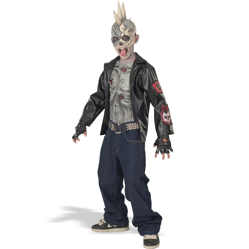 Punk Zombie Child Costume for the 2015 Costume season.