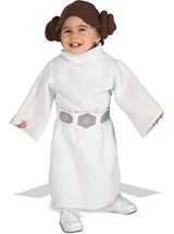 Click Here to buy Star Wars Princess Leia Fleece Baby & Toddler Cost from BuyCostumes