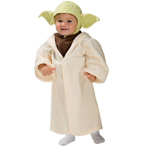 Star Wars Yoda Fleece Infant / Toddler Costume
